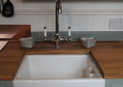 Period kitchen sink