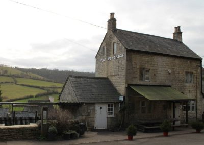 The Woolpack local pub